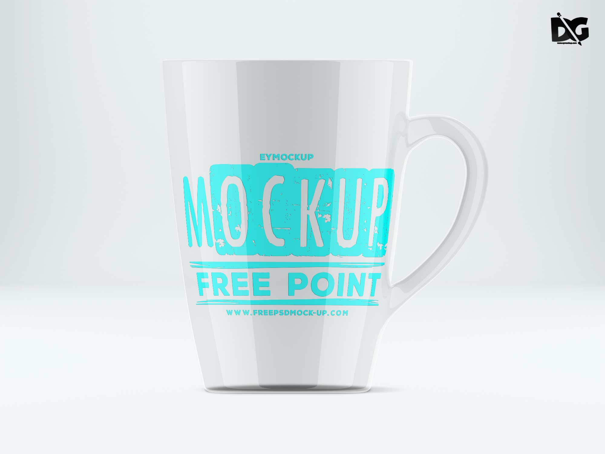 免费马克杯样机素材 - PSD模版下载