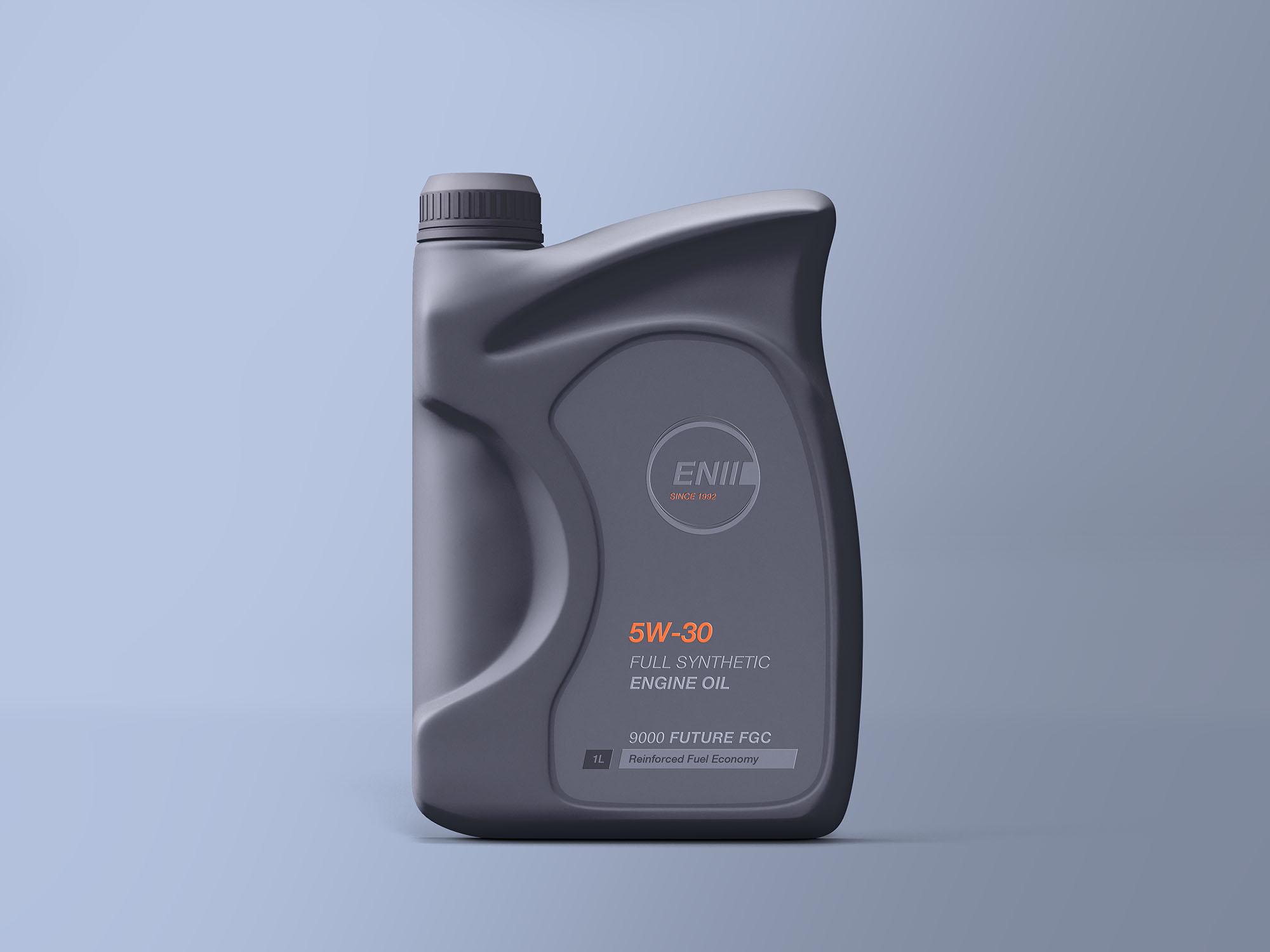 机油瓶子、塑料瓶样机素材 - PSD模版下载