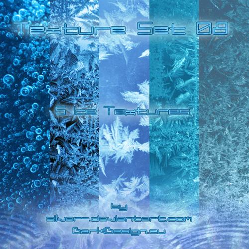 冰晶纹理、霜冻表面图案Photoshop笔刷素材(JPG图片格式素材)