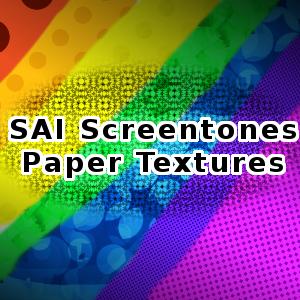 斑点纹理效果SAI画笔PaintTool SAI笔刷素材下载