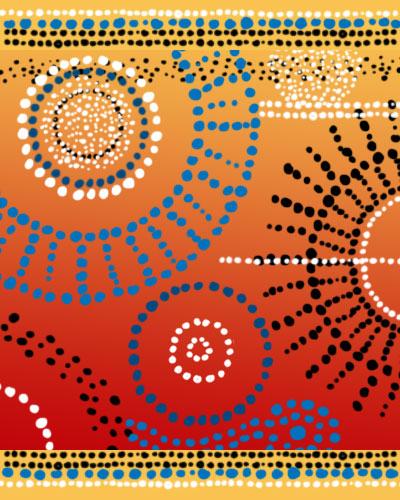 神秘的装饰性点状花纹图案PS印花笔刷