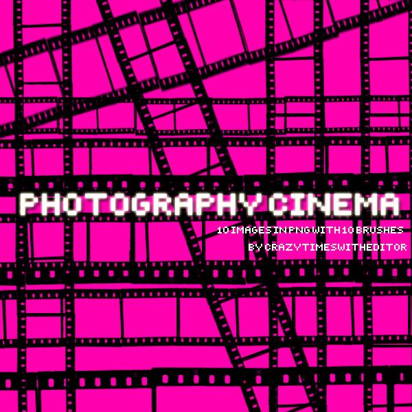 电影胶卷图案、相机胶卷图案PS笔刷素材下载