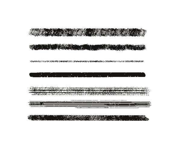 帆布式油墨纹理笔触Illustrator笔刷/Ai画笔