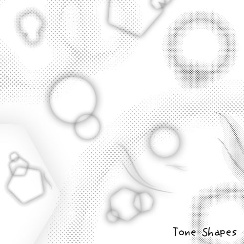 漂亮的几何图形背景装饰图案Photoshop笔刷下载