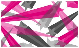 立体五角星图案PS笔刷下载