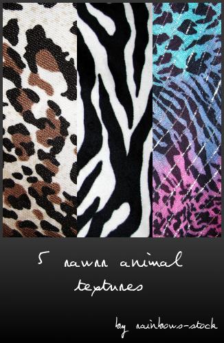 一组漂亮的豹纹、动物斑纹条纹纹理Photoshop背景笔刷下载(JPG格式素材)