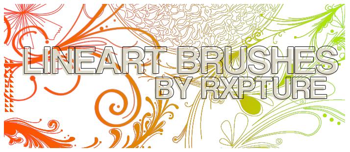 手绘艺术涂鸦花纹图案Photoshop印花花纹笔刷素材