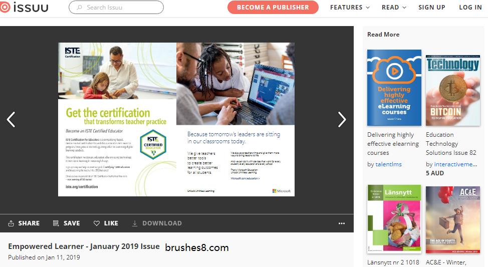 平面设计、视觉设计的灵感网站 - issuu