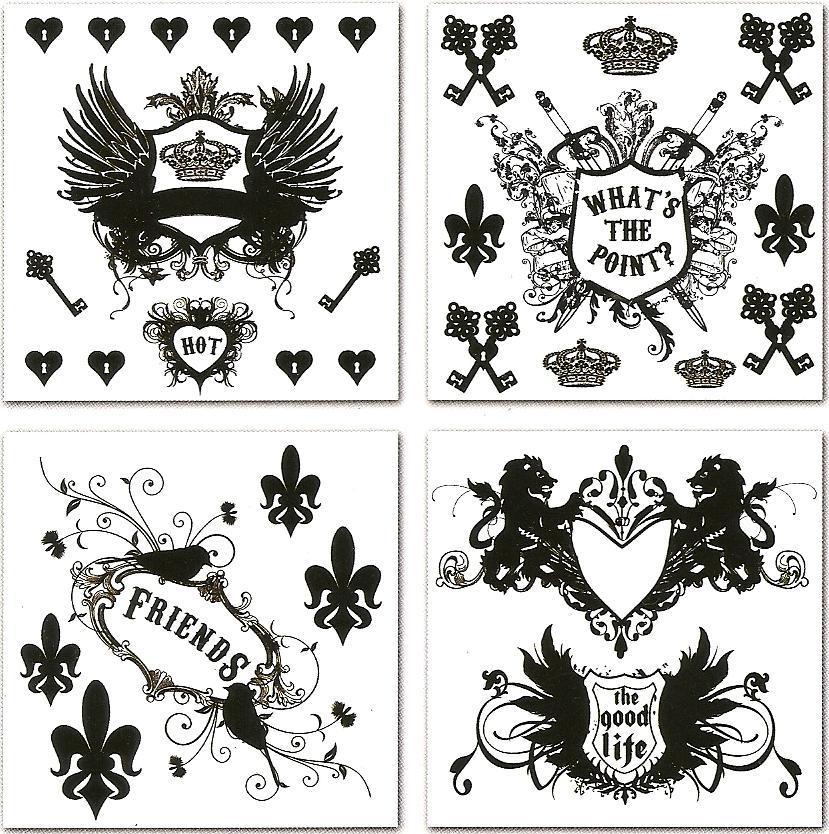 皇家徽章、皇室图案装饰PS笔刷下载
