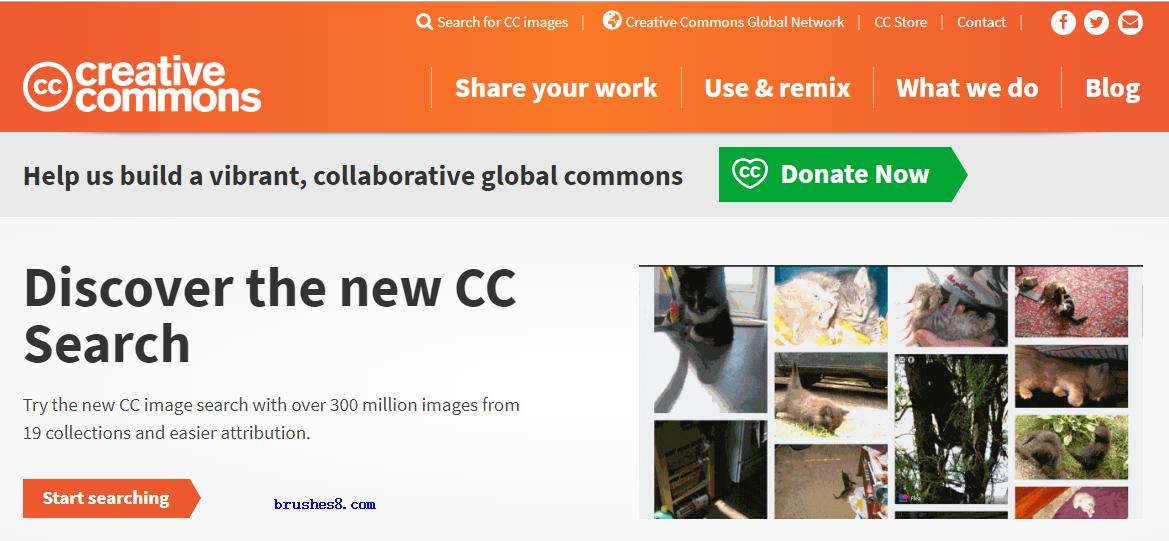 免费商用图片搜索引擎 Creative Commons 正式上线