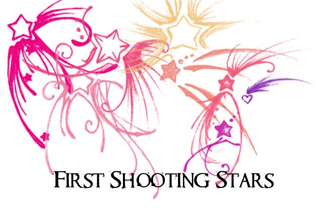 手绘涂鸦星星装饰PS笔刷素材下载