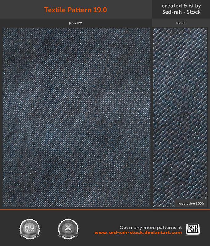 牛仔裤纹理材质纹理填充Photoshop底纹素材.pat