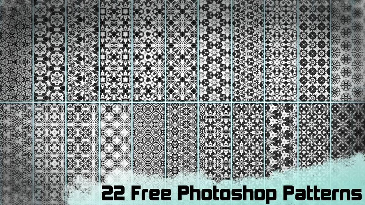 22种经典复古印花图案Photoshop填充图案底纹素材 Patterns 下载