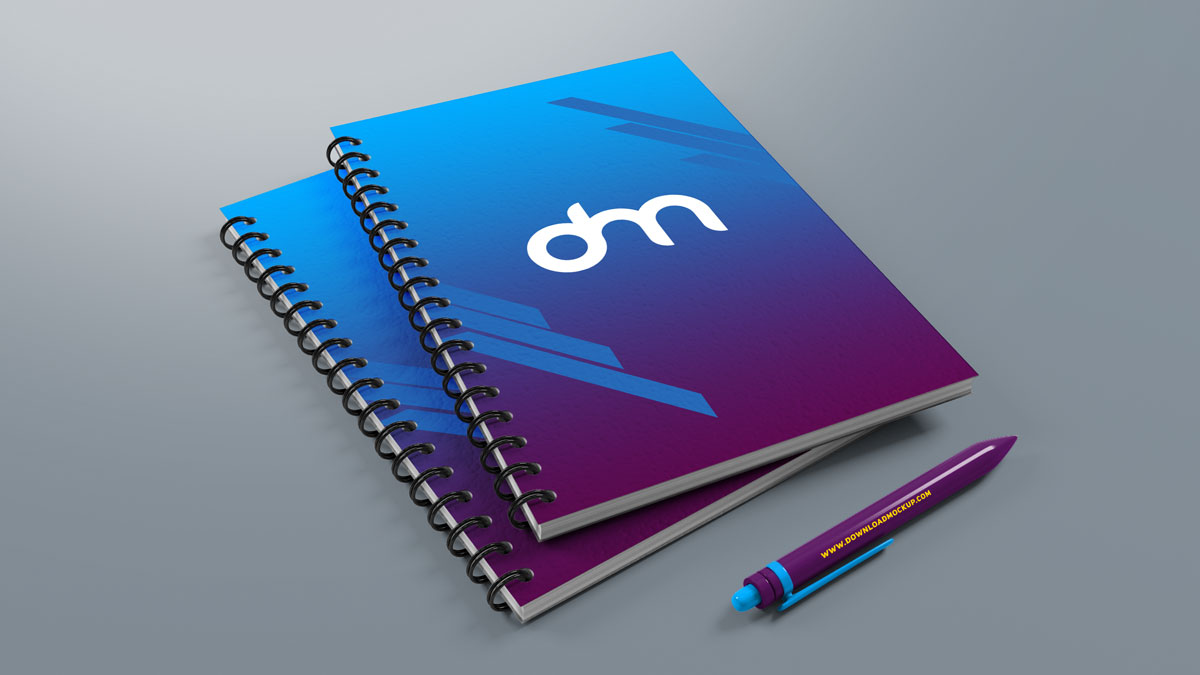 笔记本样机模板素材PSD源文件下载 - 企业、品牌文化建设