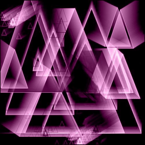 神秘三角形PS笔刷素材