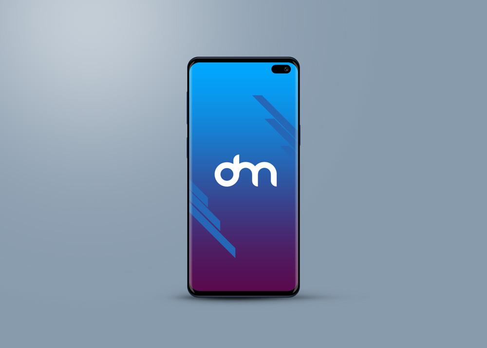Samsung Galaxy S10 手机模型PSD样机素材下载