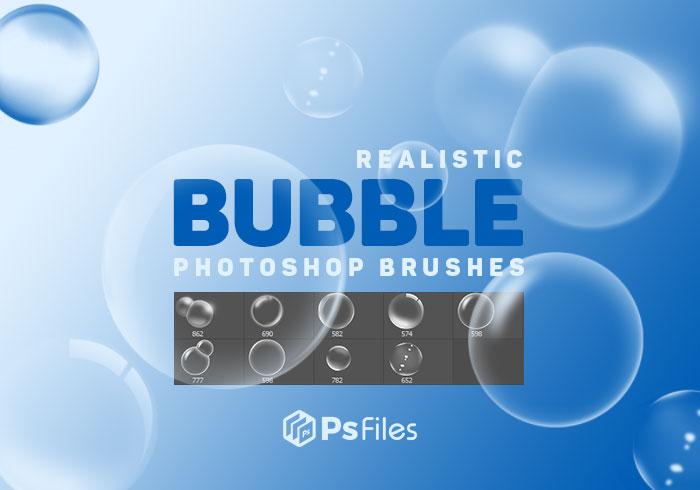 气泡、泡泡、水泡PS泡泡图形笔刷