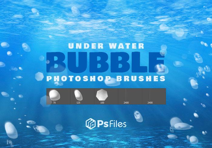 水下泡泡、折射光斑效果PS笔刷下载