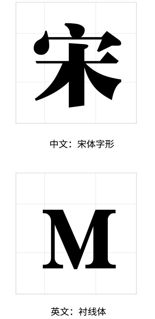 如何选择合适的字体:宋体篇