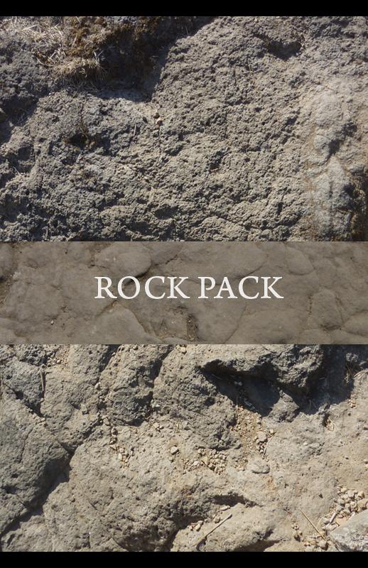 高清岩石纹理材质PS笔刷包(JPG图片格式)