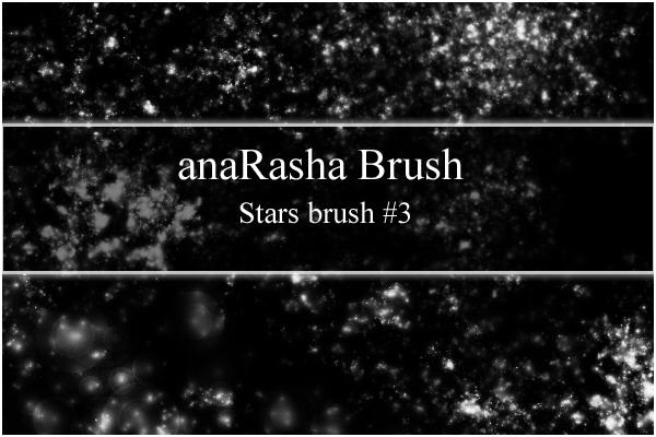 星星、群星背景纹理效果Photoshop笔刷素材