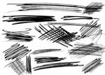 潦草的笔迹痕迹、  铅笔划痕平安彩票娱乐平台