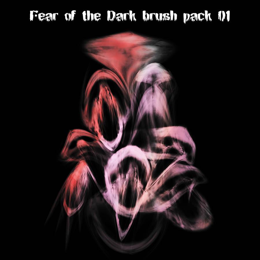 10种恶梦中的魔鬼、幽灵效果PS笔刷下载