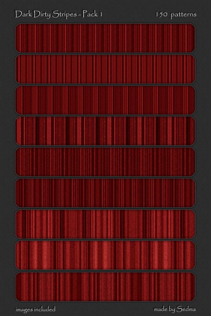 红色神秘科技感竖线条Photoshop填充图案文件底纹素材 .pat 下载