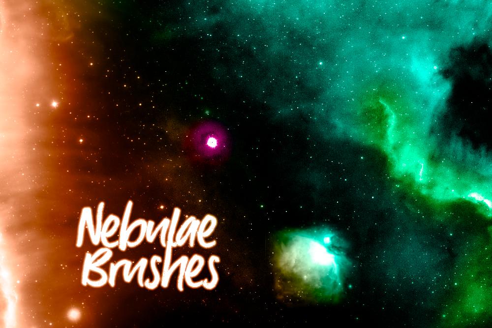 浩瀚宇宙星空、银河系、星辰大海背景PS宇宙笔刷