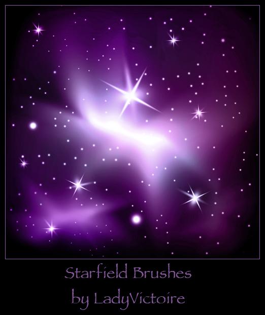 星星点缀、星光闪闪背景PS笔刷下载