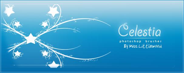 梦幻星星线条印花图形Photoshop笔刷素材