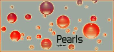珍珠、立体小球、高光球体图像PS笔刷下载