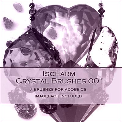 水晶项链、挂坠、钻石、宝石饰品Photoshop笔刷下载