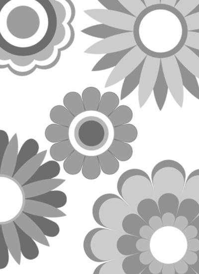 漂亮的矢量花朵、花纹、印花图案PS笔刷下载