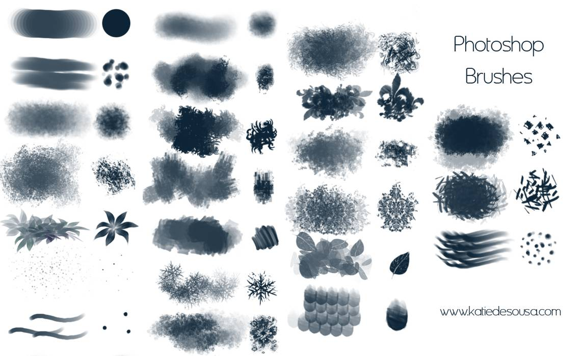 23种CG艺术绘画插画创作PS笔刷素材