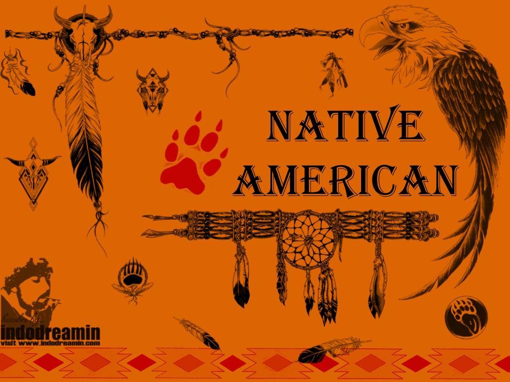 印第安部落图腾装饰文化PS笔刷素材