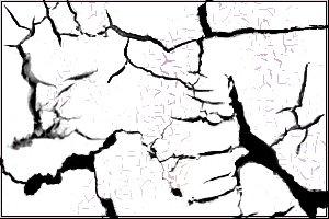 土地开裂、裂纹、干涸PS纹理笔刷素材