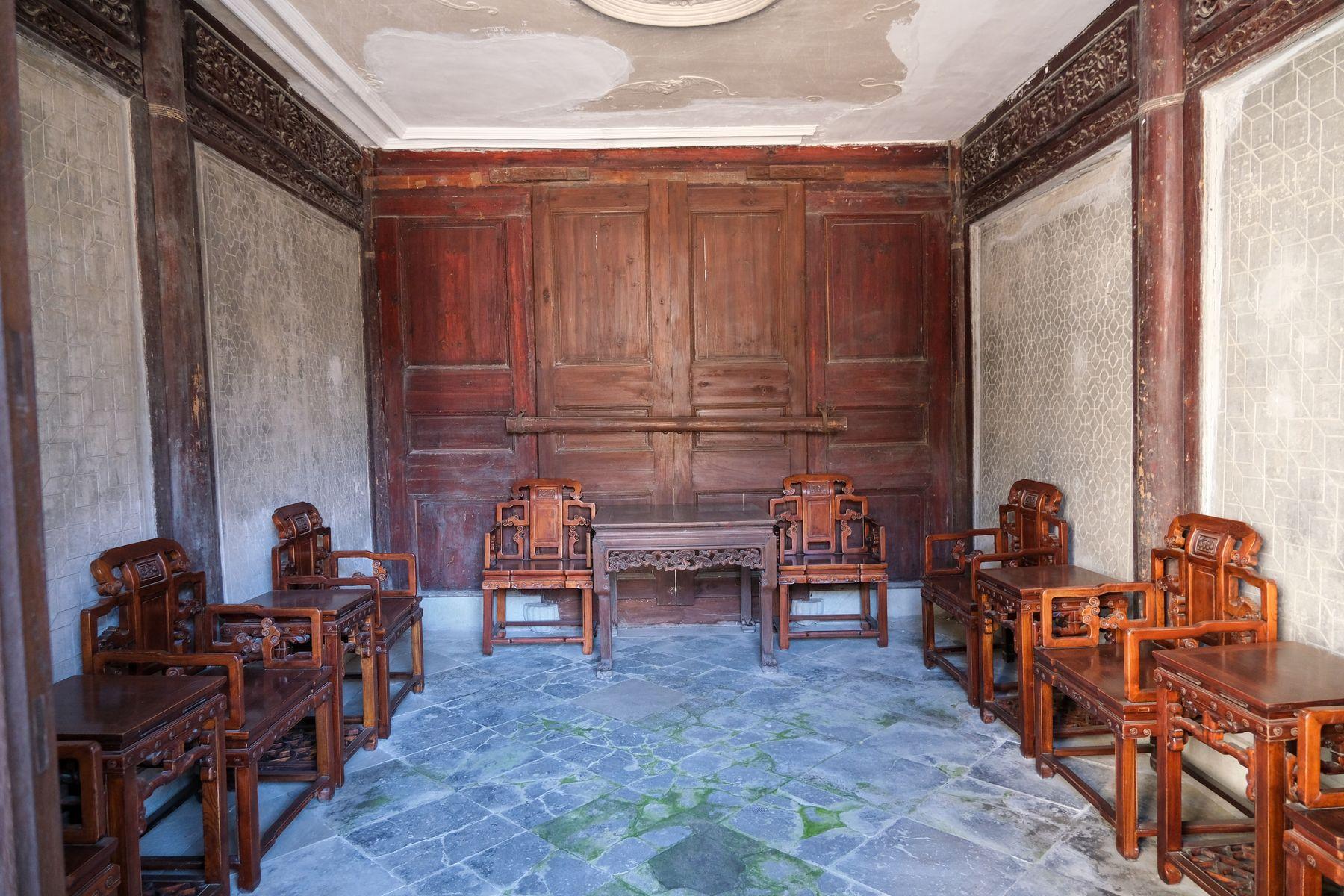 清朝、民国传统风格的客厅照片素材(高清照片,免费商用授权)