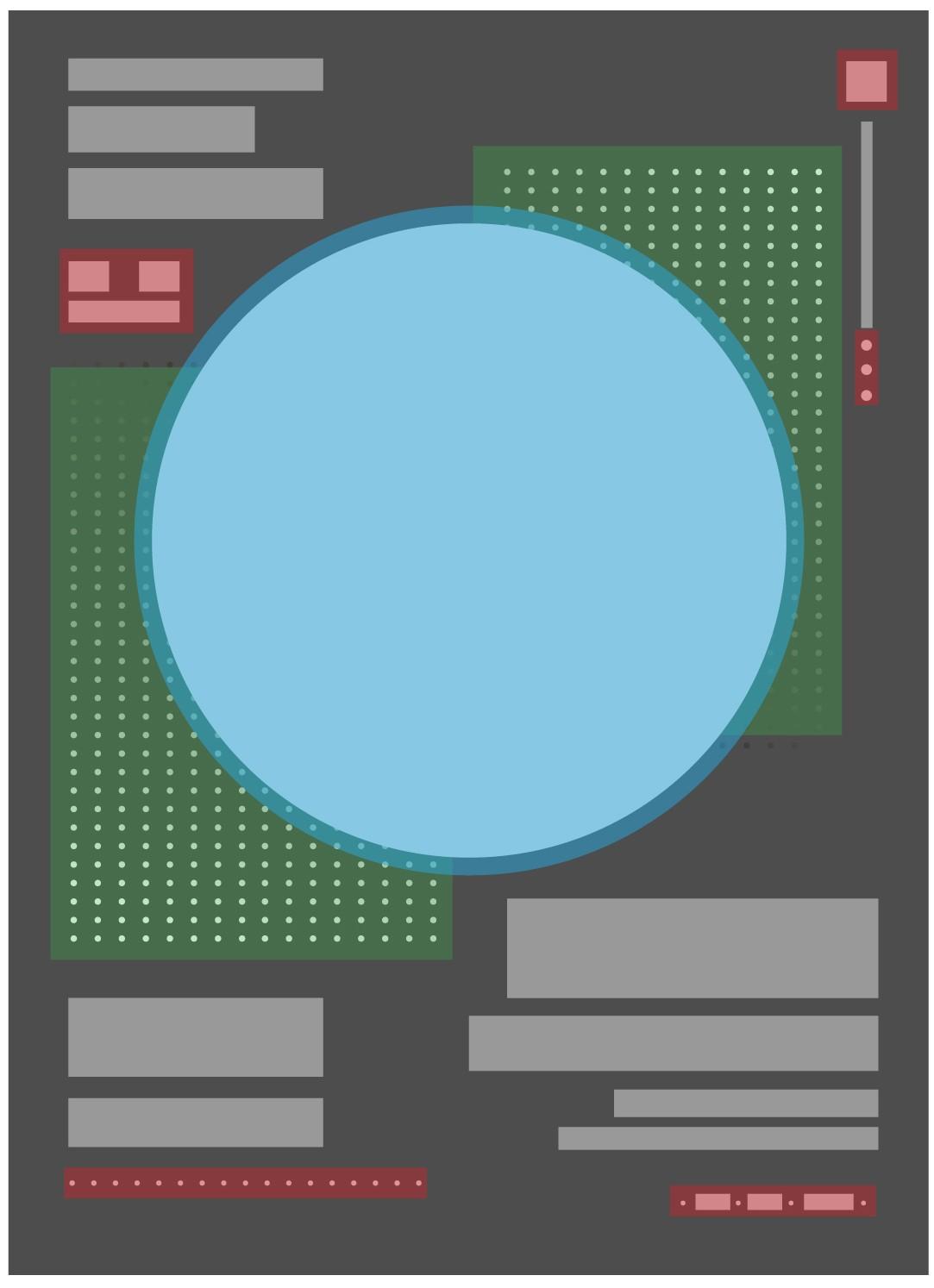 """解锁""""点""""构成在版式设计中的运用"""
