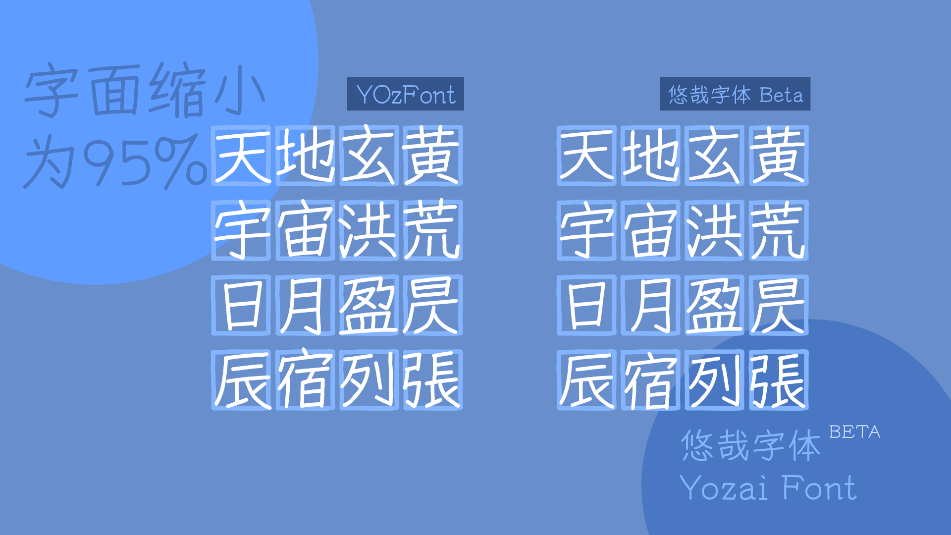 免费正版中文字体下载  -  悠哉字体 / Yozai Font