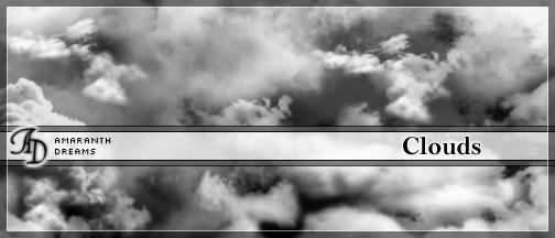 云层、天空纹理ps笔刷素材