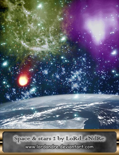 宇宙星空背景PS银河系笔刷
