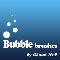 泡泡图形、气泡纹理PS笔刷