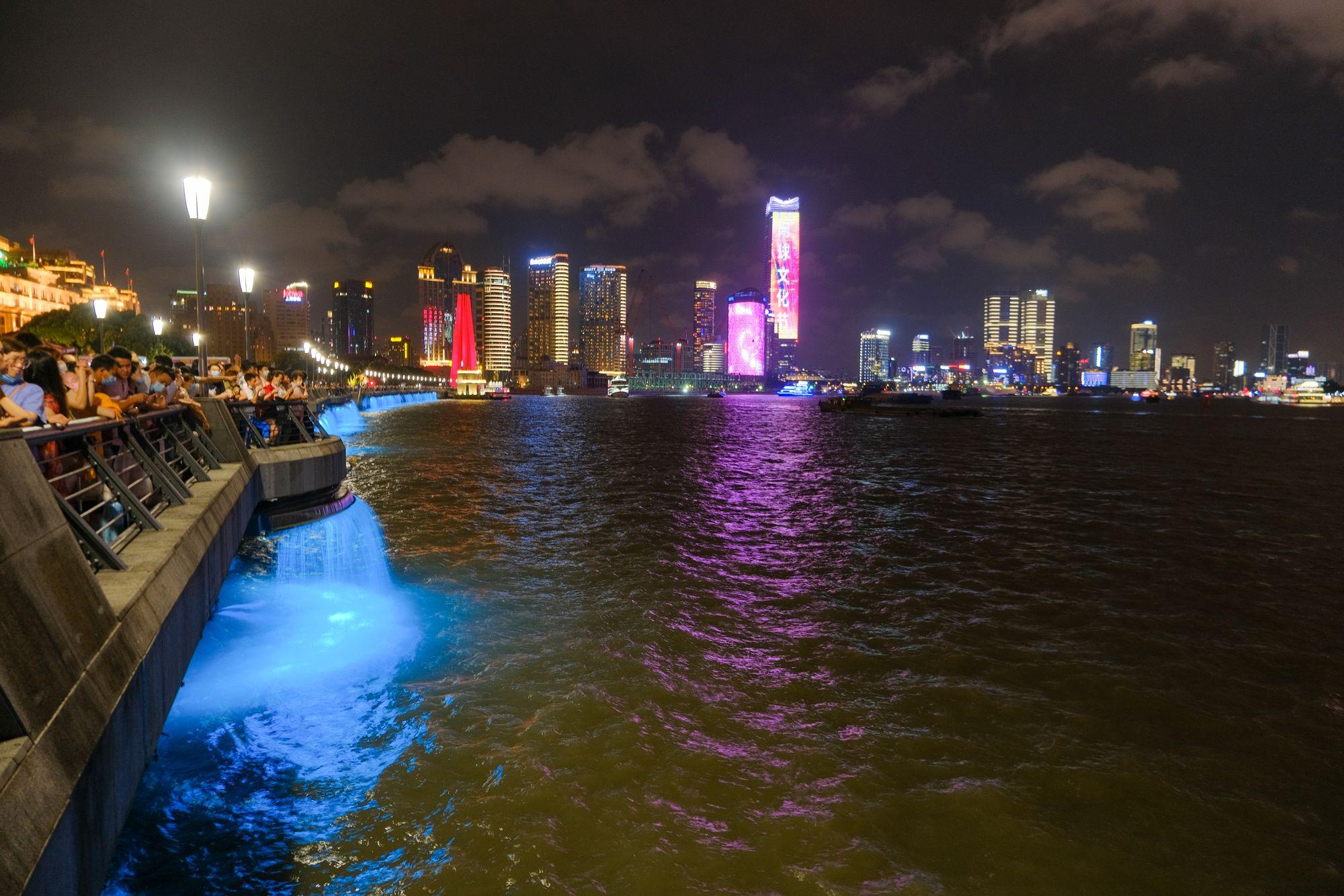 上海滩夜景照片 - 免费正版图片下载