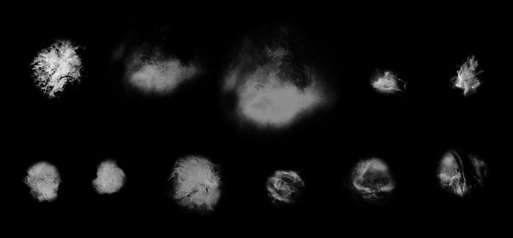 银河系、星域PS星空笔刷