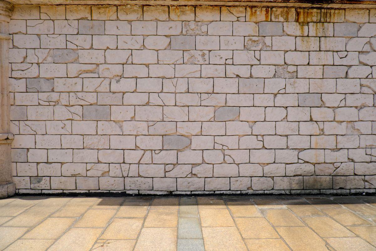 真实石砖墙面纹理  -  4k图片免费下载