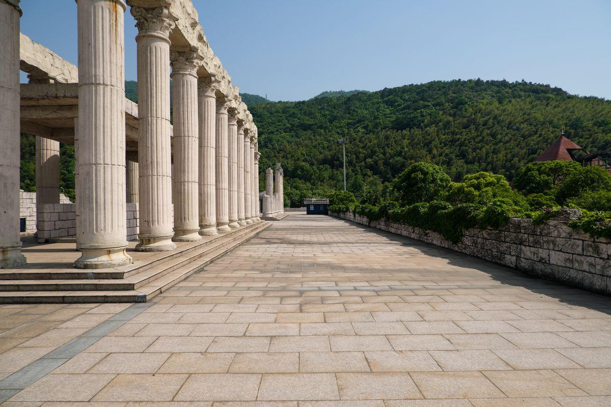 古罗马建筑风格照片   -  4k图像下载