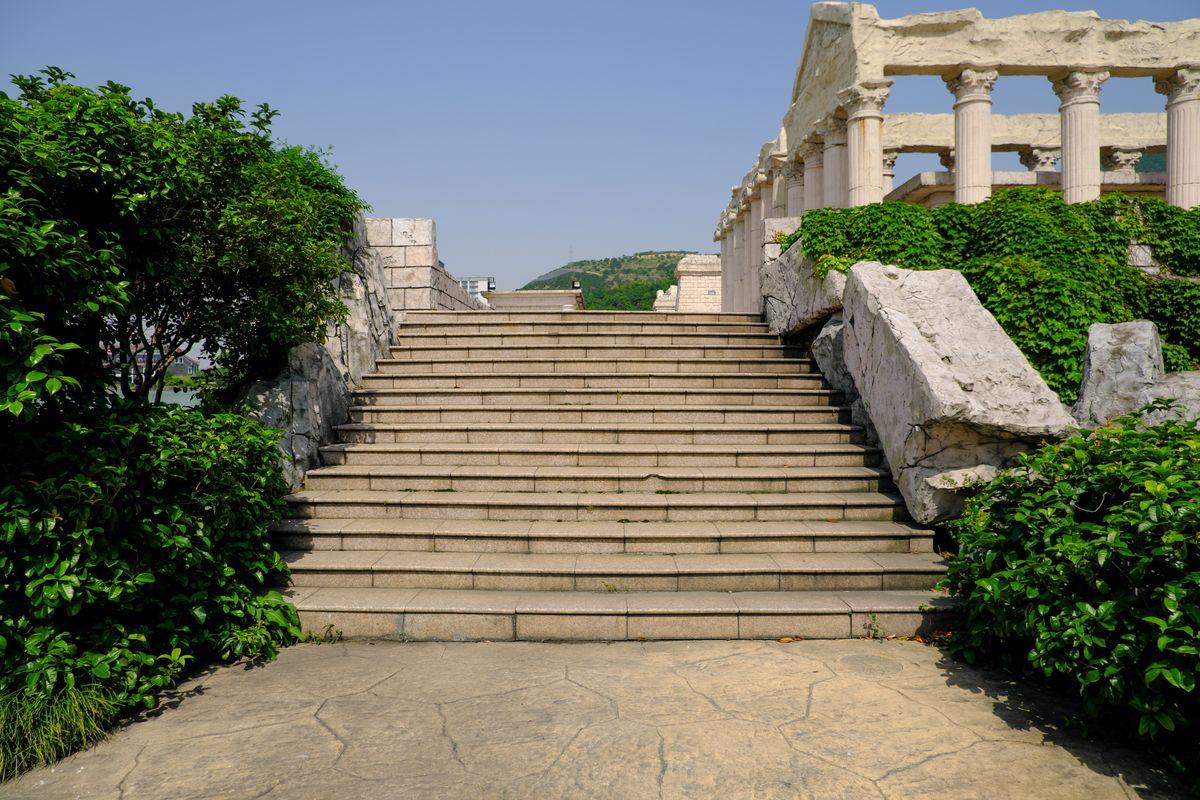 古罗马风格背景、台阶照片 -免费商用照片下载