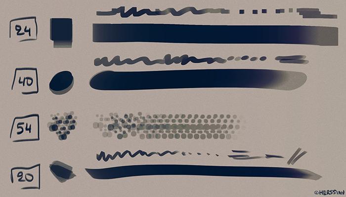 雀斑、渲染、底色等PS笔刷
