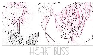 涂鸦玫瑰花印花图案PS笔刷
